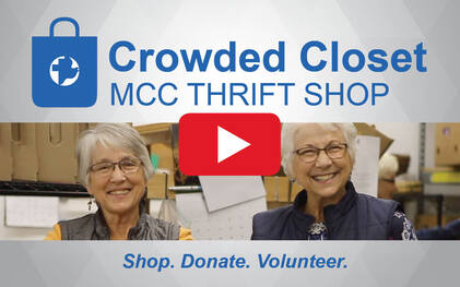 Crowded Closet Thrift Shop video. Come join us!